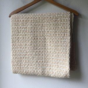 Club Monaco Handknit Wool Scarf